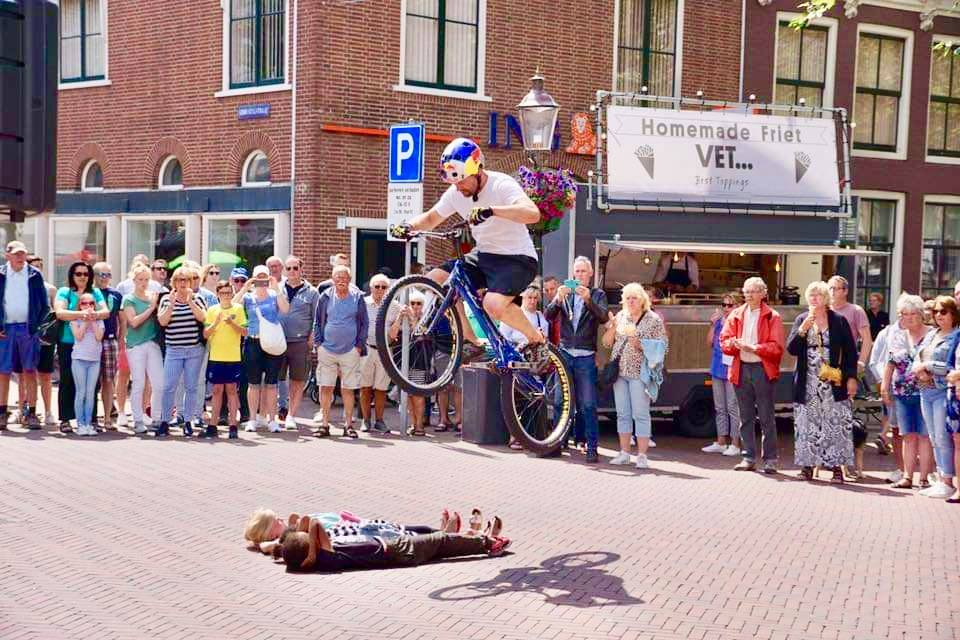 Spectaculaire Mountainbike Trial shows